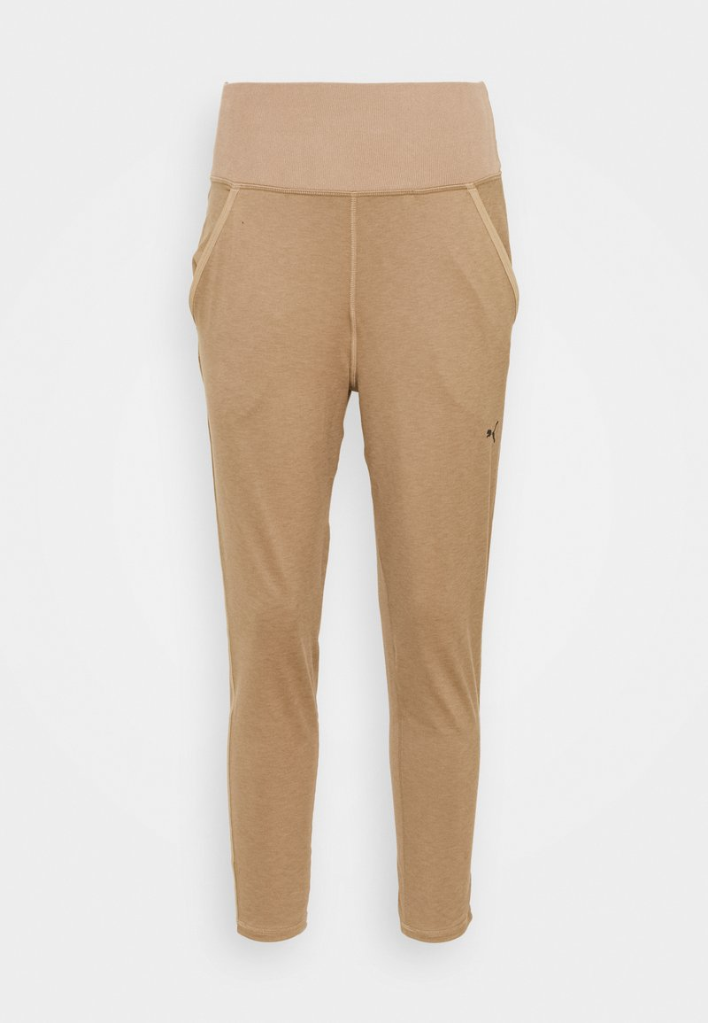 Puma - STUDIO JOGGER - Tracksuit bottoms - amphora heather