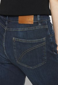 Opus - LOUIS - Jeans straight leg - dark washed blue - 3