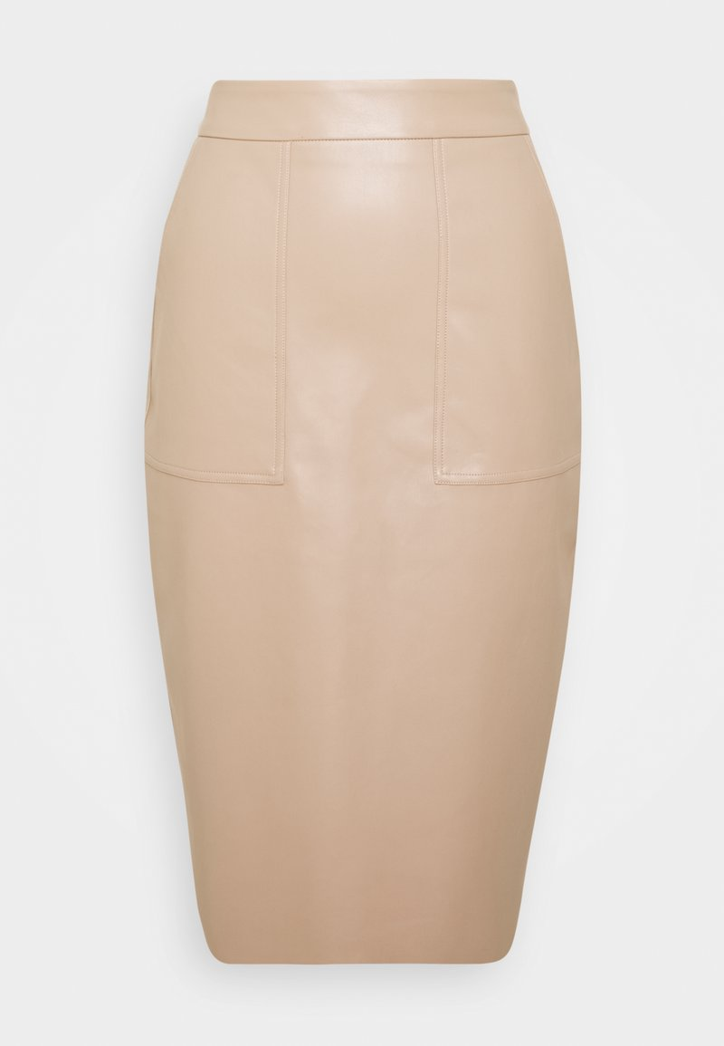 Nly by Nelly - CARGO SKIRT - Pencil skirt - nougat