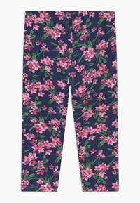 Blue Seven - CAPRI 2 PACK - Leggings - Trousers - dark blue/pink - 1