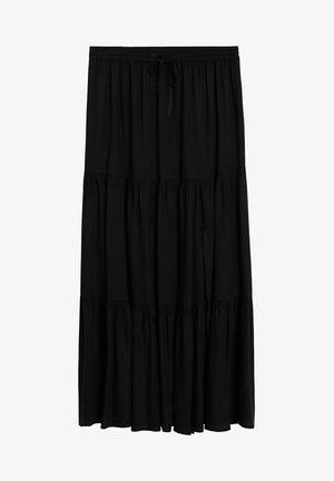 SUMMER - A-line skirt - schwarz