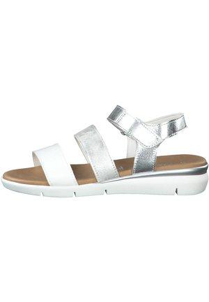 MARCO TOZZI - Sandals - white comb