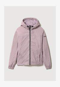 Napapijri - A-CIRCULAR SHORT - Light jacket - sea fog pink - 5
