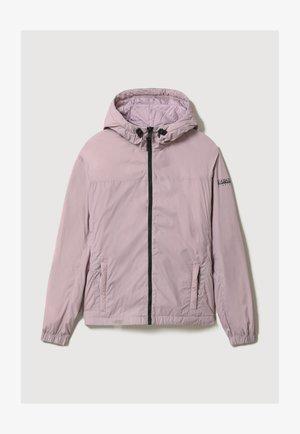 A-CIRCULAR SHORT - Winter jacket - sea fog pink