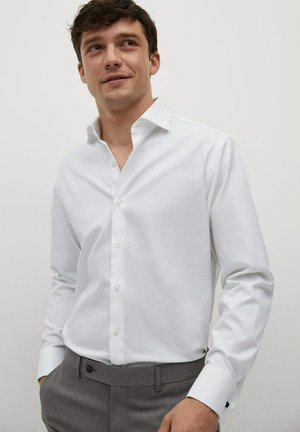 SLIM FIT - Zakelijk overhemd - blanco