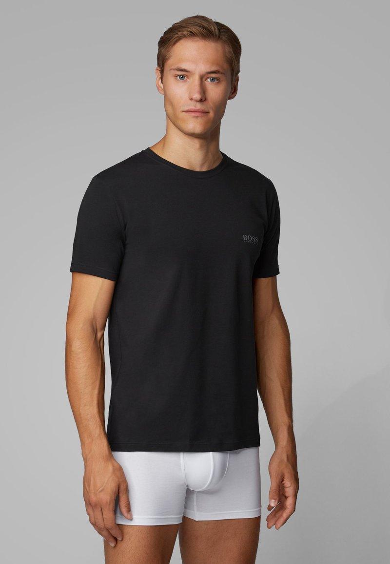 BOSS - 2 PACK - Undershirt - black