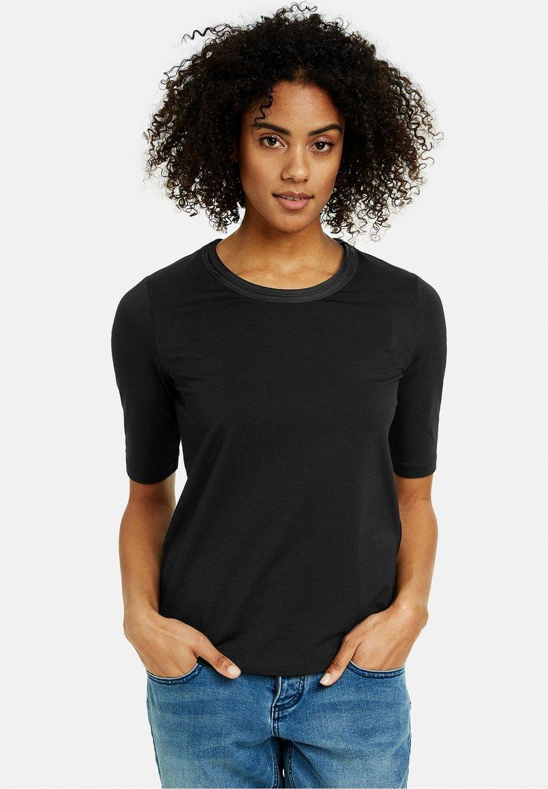 Taifun - Basic T-shirt - black