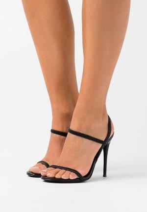 GABRIELLA  - Sandaler med høye hæler - black