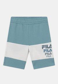 Fila - PADDY BLOCKED  - Shorts - cameo blue/snow white - 0