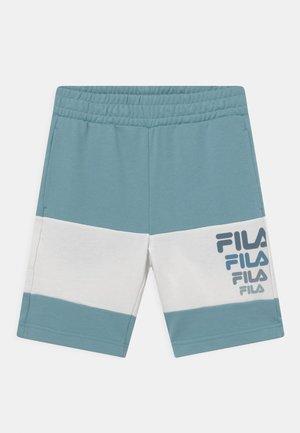 PADDY BLOCKED  - Shorts - cameo blue/snow white