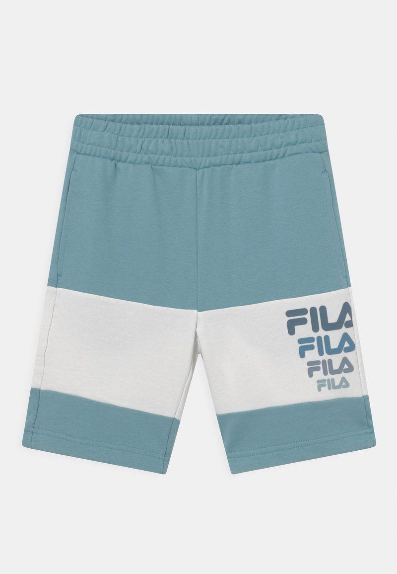 Fila - PADDY BLOCKED  - Shorts - cameo blue/snow white