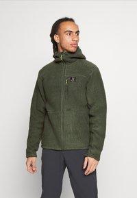 Haglöfs - HOOD MEN - Fleece jacket - fjell green - 0