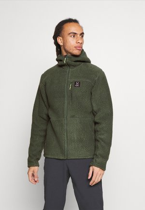 HOOD MEN - Veste polaire - fjell green