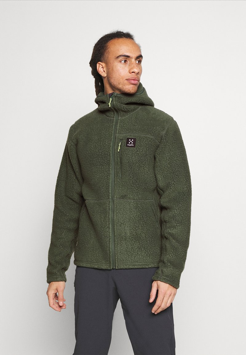Haglöfs - HOOD MEN - Fleece jacket - fjell green
