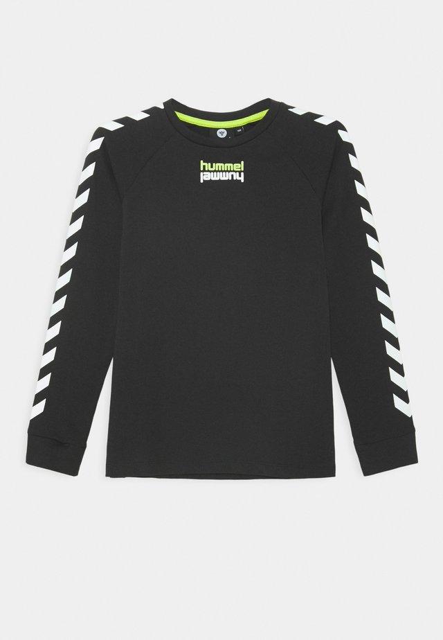 SEBASTIAN - Long sleeved top - black