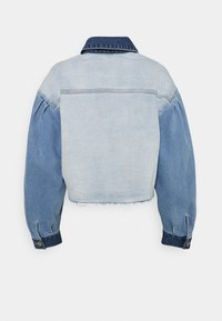 Hollister Co. - PATCHWORK - Veste en jean - indigo - 1
