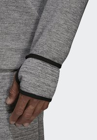 adidas Performance - adidas Z.N.E. Fast Release Hoodie - Fleecejas - grey - 4