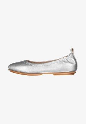 ALLEGRO - Ballet pumps - silver