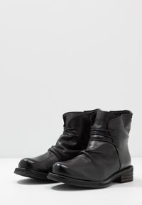 Felmini Wide Fit - COOPER - Snörstövletter - uraco black - 4