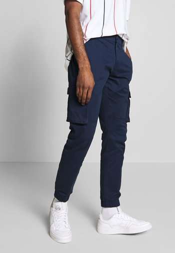 ONSCAM STAGE CUFF - Cargo trousers - dark blue