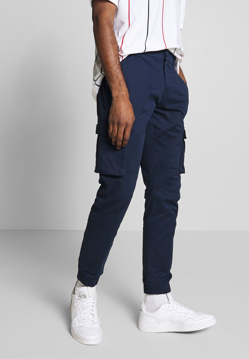 Only & Sons - ONSCAM STAGE CUFF - Pantalon cargo - dark blue