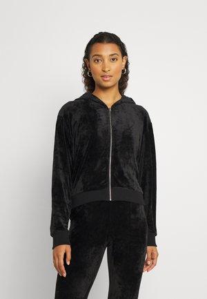 ZIP UP HOODIE - Sweater met rits - black
