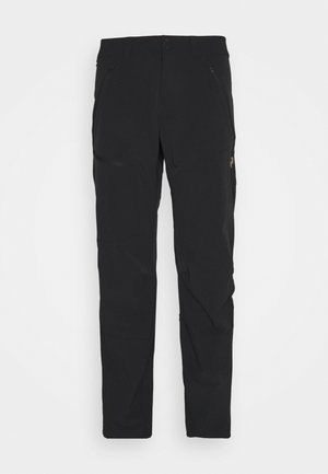 LIGHT CARBON PANTS - Trousers - black