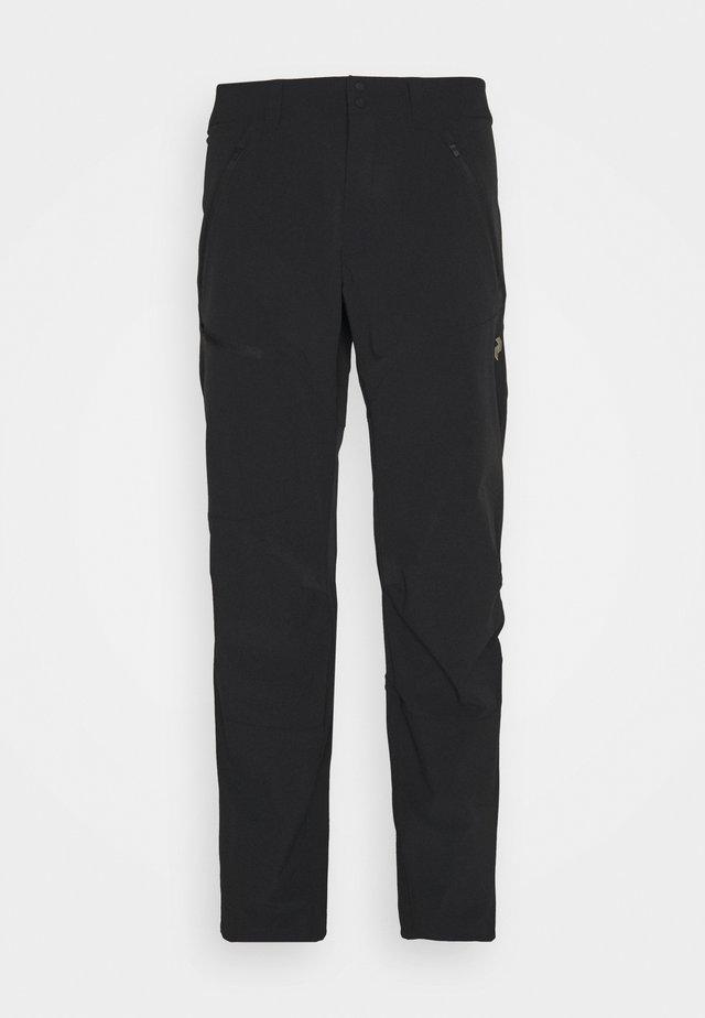 LIGHT CARBON PANTS - Broek - black