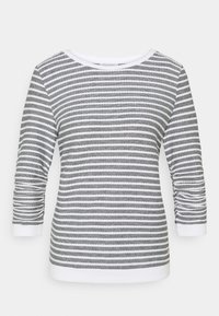 TOM TAILOR DENIM - STRIPED - Sweatshirt - blue white - 0