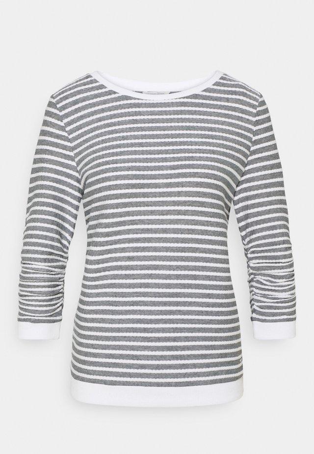STRIPED - Sweater - blue white