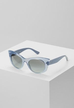 Sonnenbrille - transparent, blue