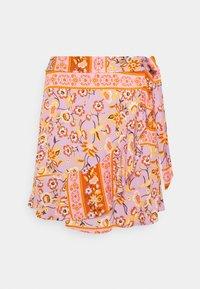 Vila - VICITY FESTIVAL WRAP SKIRT - Wrap skirt - lavender - 3