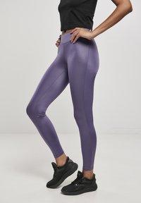Urban Classics - Leggings - Trousers - darkduskviolet - 3