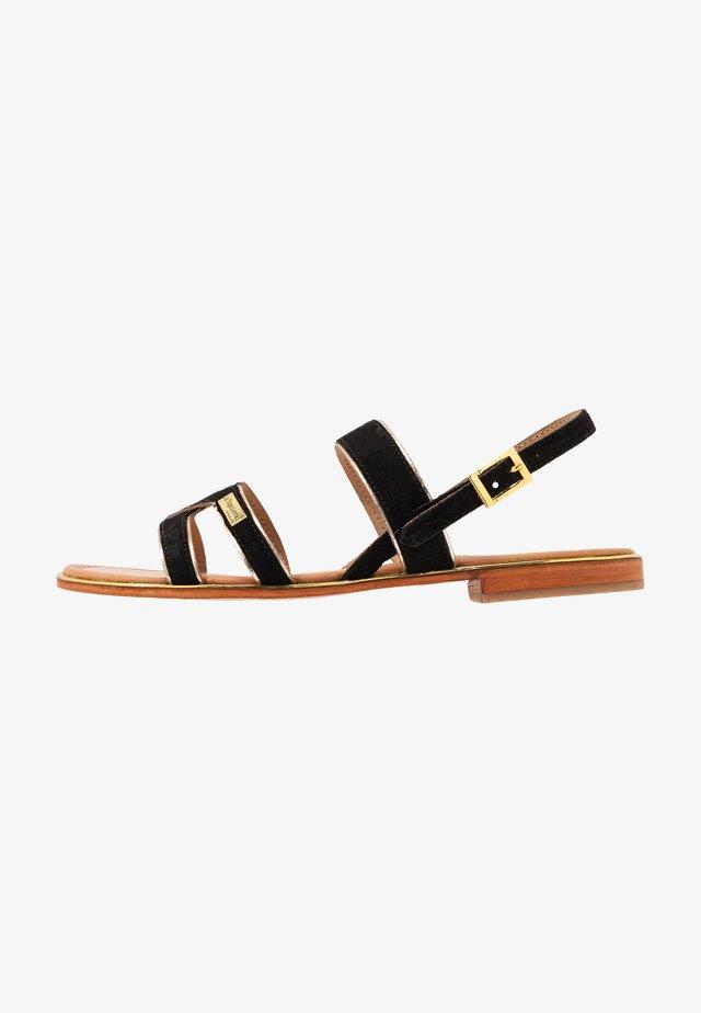 HELIBUC - Sandals - noir