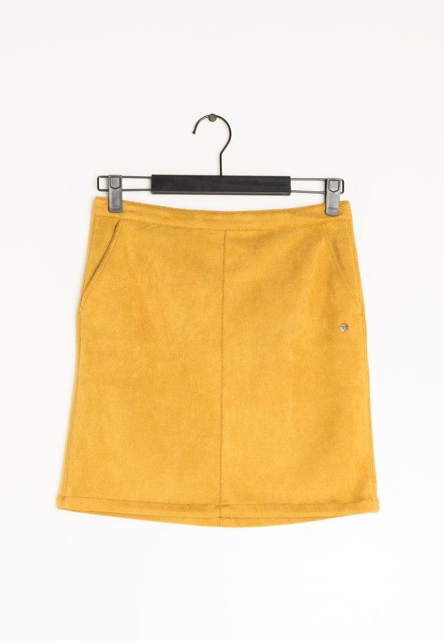 A-lijn rok - yellow