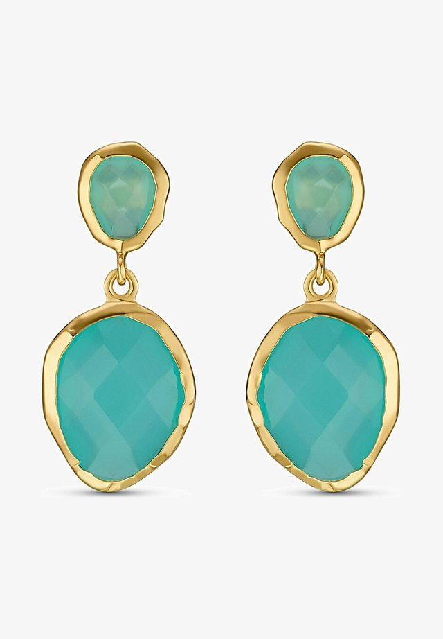 Earrings - turquoise