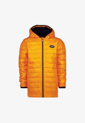 Winter coat - neon orange