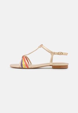ELKAZA - Sandals - or/multicolor