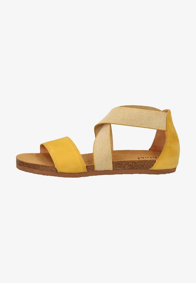 Sandalen - safran