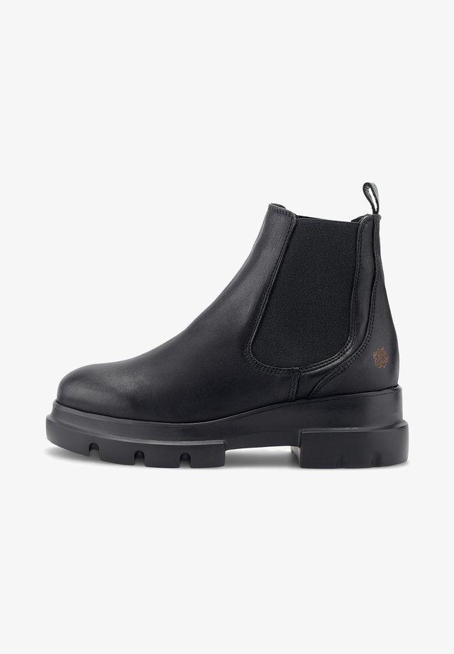 KORY - Platform ankle boots - schwarz