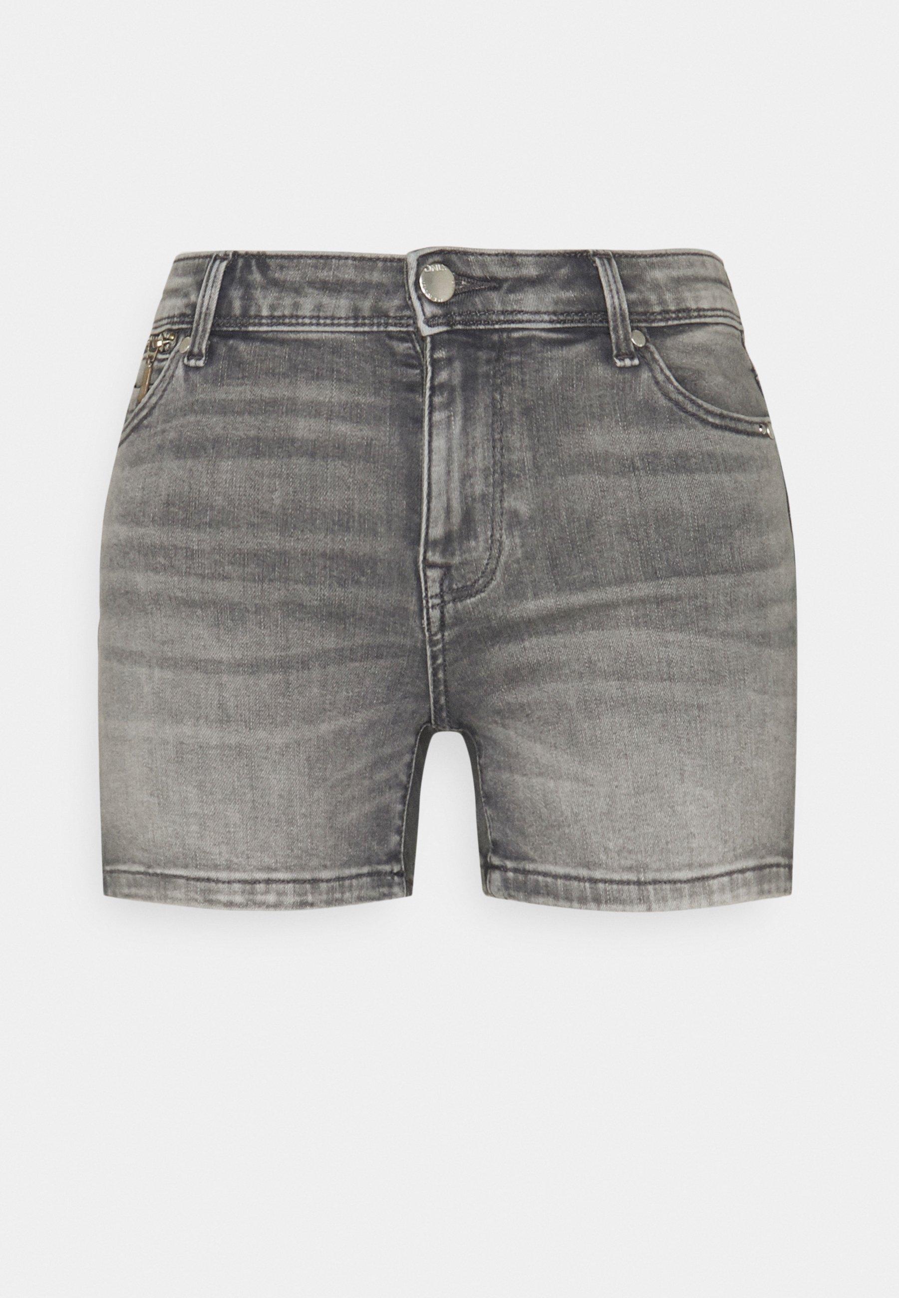 Women ONLISA LIFE ZIP - Denim shorts
