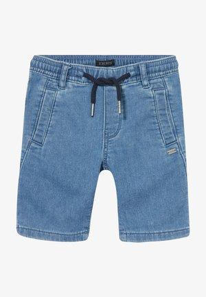 BERMUDA - Denim shorts - blue bleach