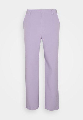 SUNDAZE STRAIGHT FIT TROUSER - Pantalon classique - lilac