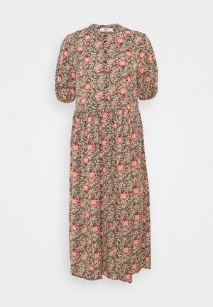 ONLJANINE MIDI DRESS - Košilové šaty - chocolate brown