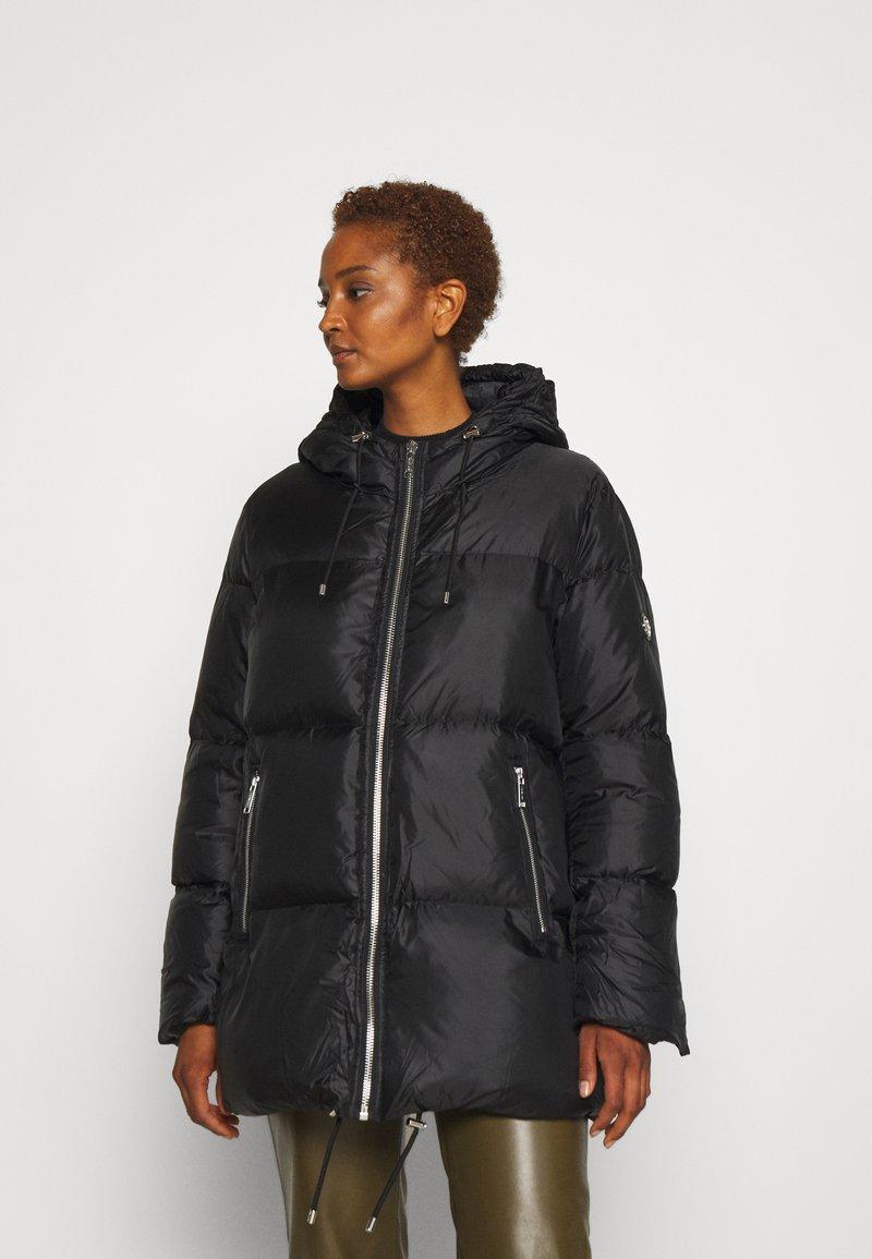 MICHAEL Michael Kors - LOGO TAPE ECO PUFFER - Down jacket - black