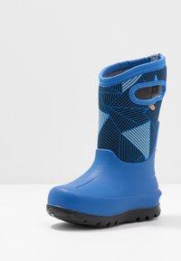 Bogs - CLASSIC BIG GEO - Winter boots - blue/multicolor - 2