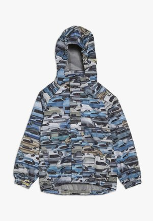 WAITON - Waterproof jacket - blue/grey