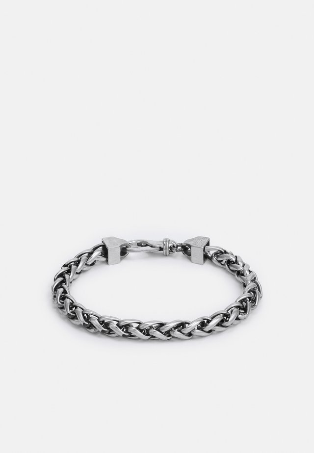 NARROW WHEAT WIRE CHAIN UNISEX - Náramek - antique silver-coloured