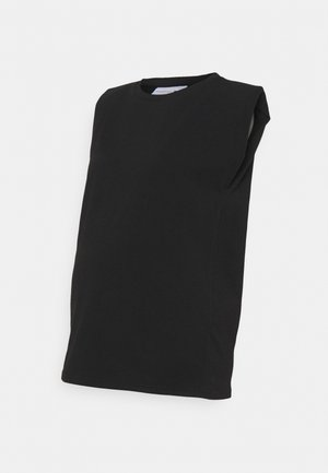 MLNILLA TANK - Basic T-shirt - black