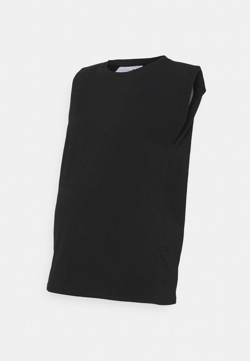 MAMALICIOUS - MLNILLA TANK - Basic T-shirt - black
